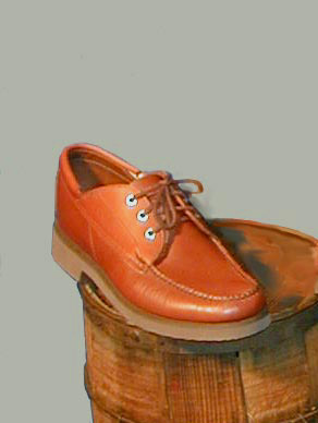 Oxford shoes handmade by MacRostie Leathers